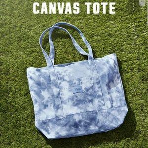 Victoria's Secret PINK Blue & White Tie-dye Tote💙